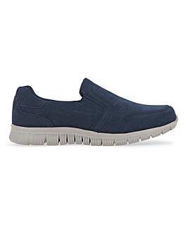 Slip On Suede Look Trainer Std