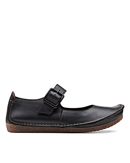 Clarks Unstructured Janey June Standard Fitting Shoes
