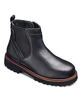 Boys Leather Chelsea Boots