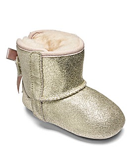 UGG Jesse Bow Metallic Booties