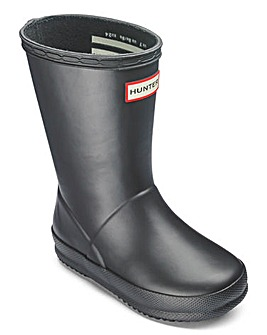 Hunter First Classic Boots Flat Sole