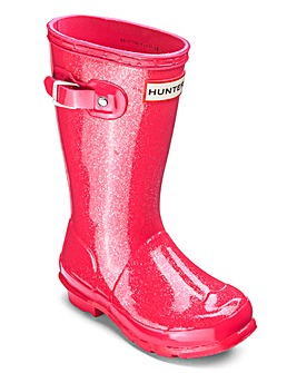 Hunter Original Kids Glitter Boots