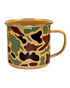 Camo Enamel Mug