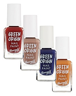 Barry M Green Origin Nail Polish Bundle 1