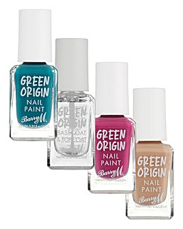Barry M Green Origin Nail Polish Bundle