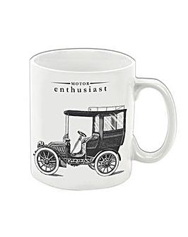 Victoriana Porcelain - Motor enthusiast