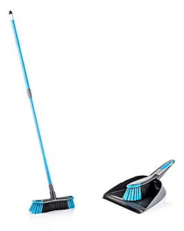 Minky Smart Sweep Dustpan & Brush