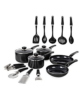 Morphy Richards Equip 5pc Panset Black with 9 FREE Tools