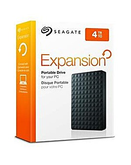 Seagate 4TB Expansion Portable - Black
