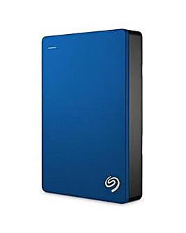 Seagate 4TB Backup Plus External - Blue