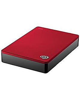 Seagate Backup Plus 4TB - Red