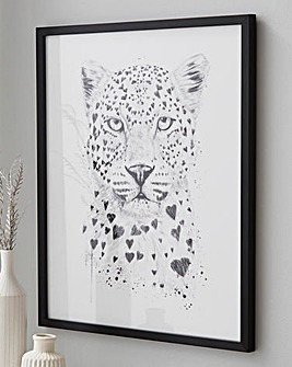 Lovely Leopard Wall Art