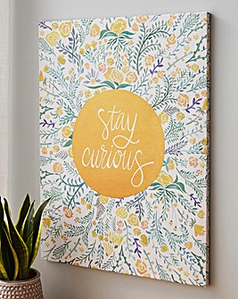 Stay Curious Canvas