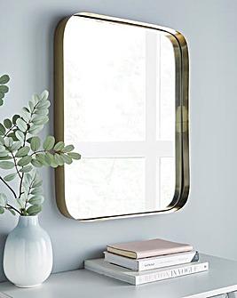 Sienna Rose Gold Mirror