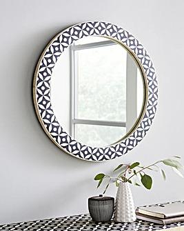 Aaliyah Round Mirror