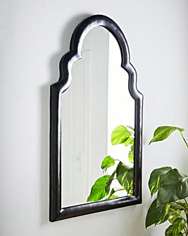 Modern Temple Arched Mirror