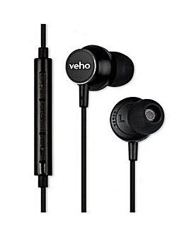 Veho Z-3 In-Ear Stereo Headphones