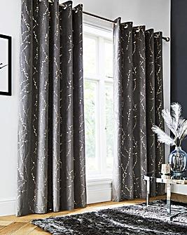 Emily Thermal Blackout Eyelet Curtains