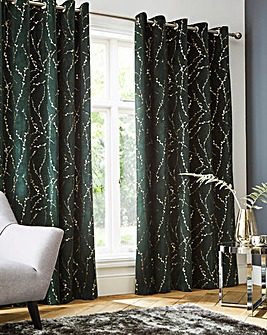 Emily Thermal Blackout Eyelet Curtains