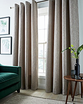 Boucle Eyelet Curtains
