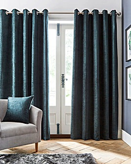 Canterbury Blackout Eyelet Curtains