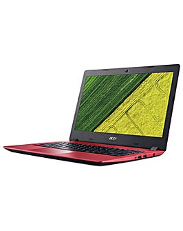 """Acer Aspire Red 14""""  4GB 128GB SSD Win10"""