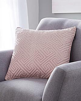 Cut Velvet Cushion