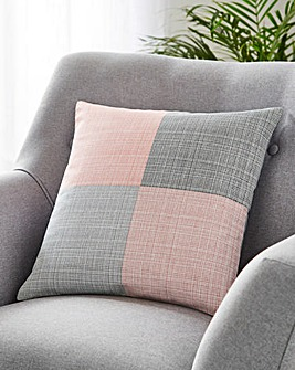 Colourblock Cushion