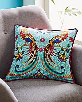 Joe Browns Exotic Bird Print Cushion