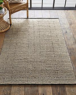 Estelle Wool Geo Flatweave Rug