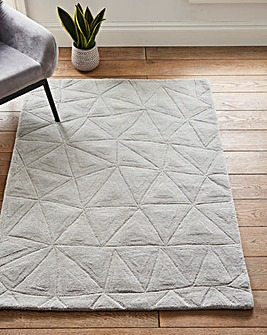 Harley Triangles Wool Rug