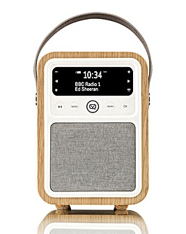 VQ Monty DAB/FM Radio - Oak