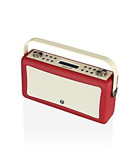 VQ Hepburn Mk II DAB/FM Radio - Red