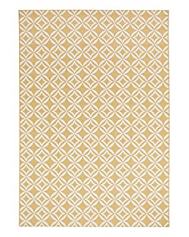 Lisbon Geo Flatweave Indoor Outdoor Rug