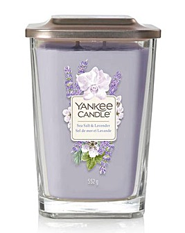 Yankee Candle Elevation Sea Salt & Lavender Large Jar