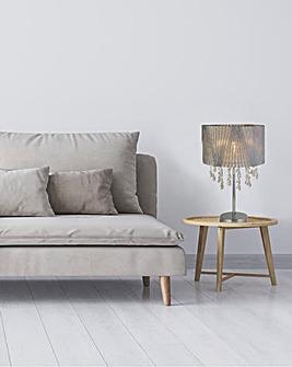 Venetian Acrylic Shade Table Lamp