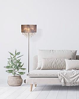 Venetian Acrylic Shade Floor Lamp