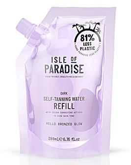 Isle of Paradise Self Tanning Water Refill Pack Dark