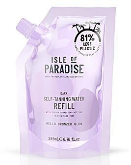 Isle of Paradise Self Tanning Water Refill Pack Dark