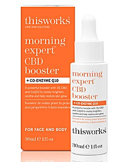 This Works Morning Expert CBD Booster + Co-Enzyme Q10