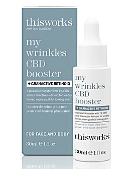 This Works CBD Booster & Retinol