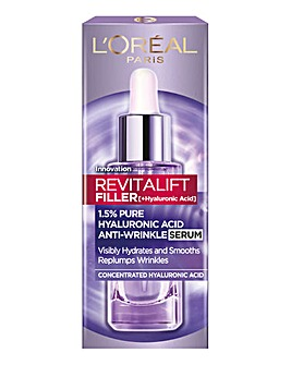 L'Oreal Paris Revitalift Filler Hyaluronic Acid Anti-Wrinkle Dropper Serum 30ml