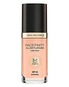 Max Factor 3 in 1 Foundation Natural