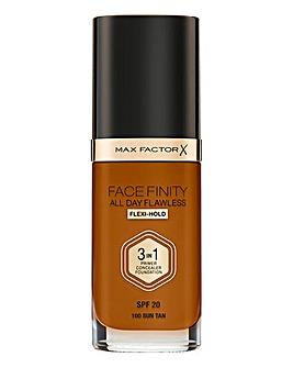 Max Factor 3 in 1 Foundation Sun Tan
