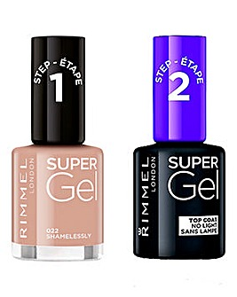 Rimmel Super Gel Polish Duo Shamelessly
