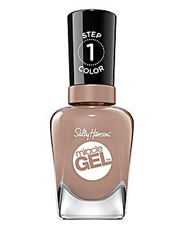 Sally Hansen Miracle Gel Nail Polish Top Coat - Mocha Me Crazy 14.7ml
