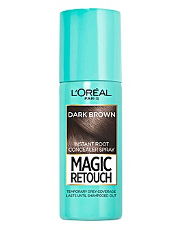 L'Oreal Magic Retouch Temporary Instant Root Concealer Spray Dark Brown 75ml