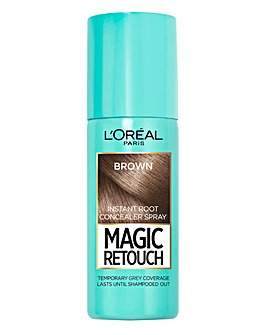 L'Oreal Magic Retouch Temporary Instant Root Concealer Spray Brown 75ml