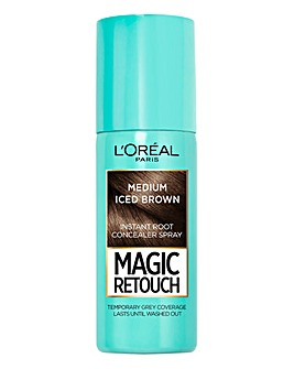 L'Oreal Magic Retouch Temporary Instant Root Concealer Spray Medium Iced Brown