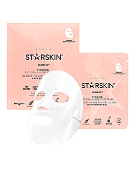 STARSKIN Close Up Coconut Bio-Cellulose Second Skin Firming Face Mask